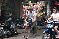 Hanoi<br /> , Vietnam - 2007 File Photo -<br /> <br /> Bicycle <br /> <br /> <br /> <br /> <br /> photo : James Wong-  Images Distribution