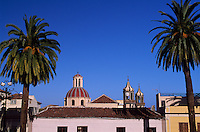 La Orotava, Blick vom Rathaus. Teneriffa, Kanarische Inseln, Spanien