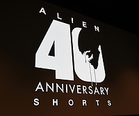 """LOS ANGELES, CA - MARCH 26: ALIEN 40TH ANNIVERSARY SHORTS SERIES SCREENING: Filmmakers attend a screening of """"Alien 40th Anniversary Shorts"""" to celebrate the 40th anniversary of ALIEN at the James Blakeley Theater on March 26, 2019 in Los Angeles, California. Twentieth Century Fox Film partnered with global creative community Tongal to offer die-hard fans an opportunity to develop and produce wholly original short films set in the world of ALIEN. (Photo by Frank Micelotta/Fox/PictureGroup)"""