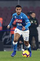 Adam Ounas  Napoli<br /> Napoli 13-01-2019  Stadio San Paolo <br /> Football Italy Cup 2018/2019, round of 16<br /> Napoli - Sassuolo<br /> Foto Cesare Purini / Insidefoto