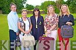 Margaret Lanigan, Lady Captain, Beaufort Golf Course, pictured with the prizewinners of the Beaufort Golf Club ladies charity open day in aid of the Palliative Care Centre, Kerry General Hospital, on Monday. Pictured are Fiona Lacey, 4th, Anne O'Leary, 2nd, Kathy Crowley, 1st, and Claire Keating, 4th.