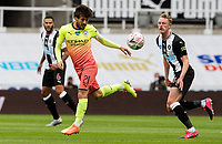 Manchester City's David Silva controls the ball<br /> <br /> Photographer Alex Dodd/CameraSport<br /> <br /> FA Cup Quarter-Final - Newcastle United v Manchester City - Sunday 28th June 2020 - St James' Park - Newcastle<br />  <br /> World Copyright © 2020 CameraSport. All rights reserved. 43 Linden Ave. Countesthorpe. Leicester. England. LE8 5PG - Tel: +44 (0) 116 277 4147 - admin@camerasport.com - www.camerasport.com