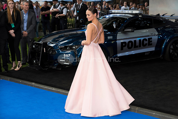 Laura Haddock attends the Global Premiere of TRANSFORMERS: The last Knight. London, UK. 18/06/2017 | usage worldwide /MediaPunch ***FOR USA ONLY***