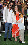 """Holly Marie Combs and family at the Los Angeles Premiere of """"The Odd Life Of Timothy Green"""" held at El Capitan Theatre Hollywood, CA. August 6, 2012"""