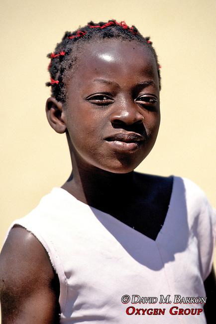 Local Girl On Nkhata Bay Beach