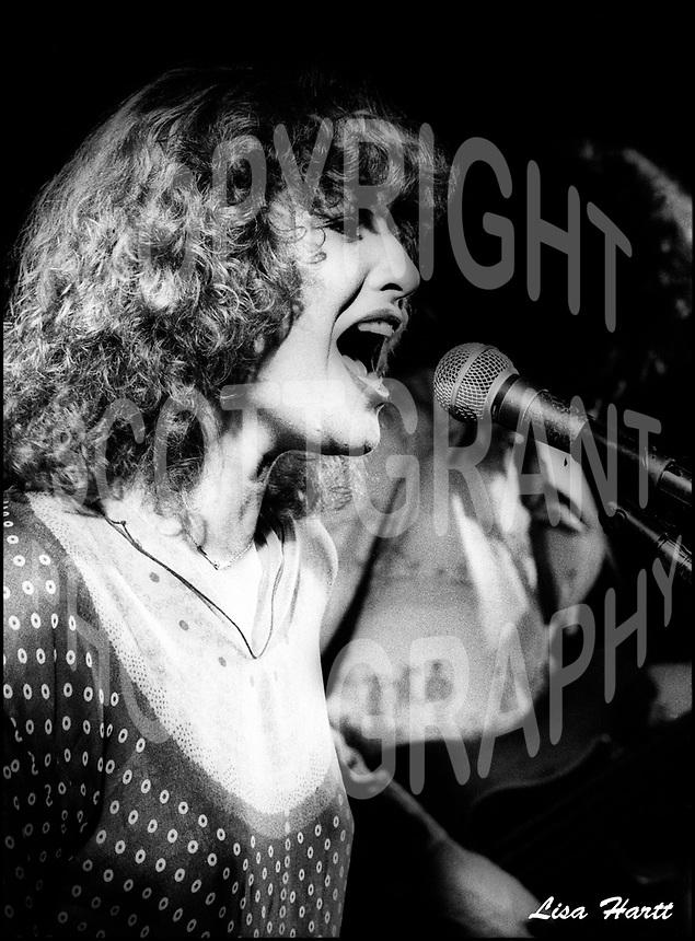 Lisa Hartt Canadian singer 1978. Photo Scott Grant