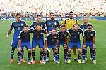 Argentina team group line-up (ARG), JULY 13, 2014 - Football / Soccer : FIFA World Cup Brazil 2014 Final match between Germany 1-0 Argentina at the Maracana stadium in Rio de Janeiro, Brazil. (Photo by Maurizio Borsari/AFLO)