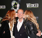 Teal Wicks, Joel Grey and Katie Rose Clarke  attending the 10th Anniversary Celebration Party for 'Wicked'  at the Edison Ballroom on October 30, 2013  in New York City.