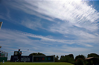 Bradley Dredge (WAL) on the 1st tee during the 1st round of the 2017 Portugal Masters, Dom Pedro Victoria Golf Course, Vilamoura, Portugal. 21/09/2017<br /> Picture: Fran Caffrey / Golffile<br /> <br /> All photo usage must carry mandatory copyright credit (&copy; Golffile | Fran Caffrey)