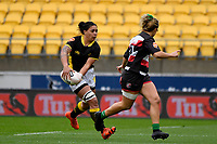 Jakie Patea-Fereti of Wellington in action during the Farah Palmer Cup - Wellington Pride v Counties Heat at Westpac Stadium, Wellington, New Zealand on Sunday 15 September 2019. <br /> Photo by Masanori Udagawa <br /> www.photowellington.photoshelter.com