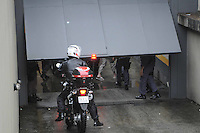 Santo Andre, SP,13 FEVEREIRO 2012-.Limderberg chega no Forum de Santo Andre. (FOTO: ADRIANO LIMA - NEWS FREE).