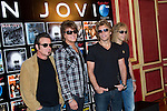 MADRID (04/06/2010).- Bon Jovi Photocall before tonight's concert at Rock in Rio Madrid. Pictured (L to R) Tico Torres, Richie Sambora, Jon Bon Jovi, and David Bryan (David Rashbaum)...PHOTO: Cesar Cebolla / ALFAQUI