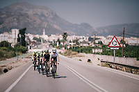 2017 TT World Champion Annemiek van Vleuten (NED/Mitchelton-Scott) training with her teammates on her costumized Scott Plasma TT bike<br /> <br /> Mitchelton-Scott Women's team training camp in Oliva (Alicante) /Spain, may 2018<br /> &copy;kramon