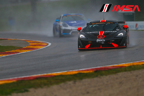 IMSA Continental Tire SportsCar Challenge<br /> Road America 120<br /> Road America, Elkhart Lake, WI USA<br /> Friday 4 August 2017<br /> 77, McLaren, McLaren GT4, GS, Nico Rondet, Mathew Keegan<br /> World Copyright: Jake Galstad<br /> LAT Images