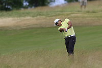 Whee Kim (KOR) plays his 2nd shot from the fescue on the 11th hole during Saturday's Round 3 of the 117th U.S. Open Championship 2017 held at Erin Hills, Erin, Wisconsin, USA. 17th June 2017.<br /> Picture: Eoin Clarke | Golffile<br /> <br /> <br /> All photos usage must carry mandatory copyright credit (&copy; Golffile | Eoin Clarke)