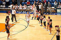 SAN ANTONIO, TX - FEBRUARY 15, 2007: The University of Texas at Arlington Mavericks vs. The University of Texas at San Antonio Roadrunners Women's Basketball at the UTSA Convocation Center. (Photo by Jeff Huehn)