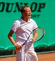 11-08-10, Hillegom, Tennis,  NJK 12 tm 18 jaar, Emotie