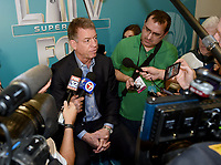 MIAMI BEACH, FL - JANUARY 28: Troy Aikman attends the Fox Sports Media Day during Super Bowl LIV week on January 28, 2020 in Miami Beach, Florida. (Photo by Frank Micelotta/Fox Sports/PictureGroup)