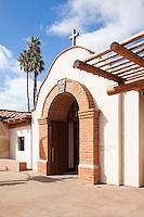 Historic San Juan Mission in San Juan Capistrano California