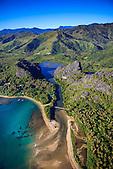 Embouchure de la lagune de Lindéralique, Hienghène, Nord-Est de la Nouvelle-Calédonie