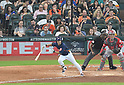 Norichika Aoki (Astros),<br /> JUNE 11, 2017 - MLB :<br /> Norichika Aoki of the Houston Astros hits a single for his 2000th career hit in the sixth inning during the Major League Baseball game against the Los Angeles Angels of Anaheim at Minute Maid Park in Houston, Texas, United States. (Photo by AFLO)