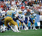 1983 Young-UCLA.jpg<br /> <br /> Football Holiday Bowl. 8 Steve Young.<br /> <br /> Dec 23, 1983<br /> <br /> Box Number: 6371<br /> <br /> Photo by: Mark Philbrick/BYU<br /> <br /> Copyright BYU PHOTO 2008<br /> All Rights Reserved<br /> 801-422-7322<br /> photo@byu.edu