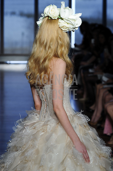 Designer : Ines di Santo<br /> Bridal Fashion Week SS15, New York April 2014