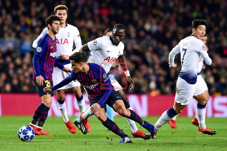 UEFA Champions League 2018/2019 - Matchday 6.<br /> FC Barcelona vs Tottenham Hotspur FC: 1-1.<br /> Phillipe Coutinho.