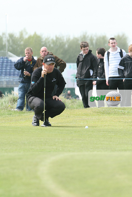 Padraig Harrington during the Pro-Am at the Irish Open in Co.Louth Golf Club,  Baltray...Photo NEWSFILE/Jenny Matthews.(Photo credit should read Jenny Matthews/NEWSFILE)....This Picture has been sent you under the condtions enclosed by:.Newsfile Ltd..The Studio,.Millmount Abbey,.Drogheda,.Co Meath..Ireland..Tel: +353(0)41-9871240.Fax: +353(0)41-9871260.GSM: +353(0)86-2500958.email: pictures@newsfile.ie.www.newsfile.ie.FTP: 193.120.102.198.