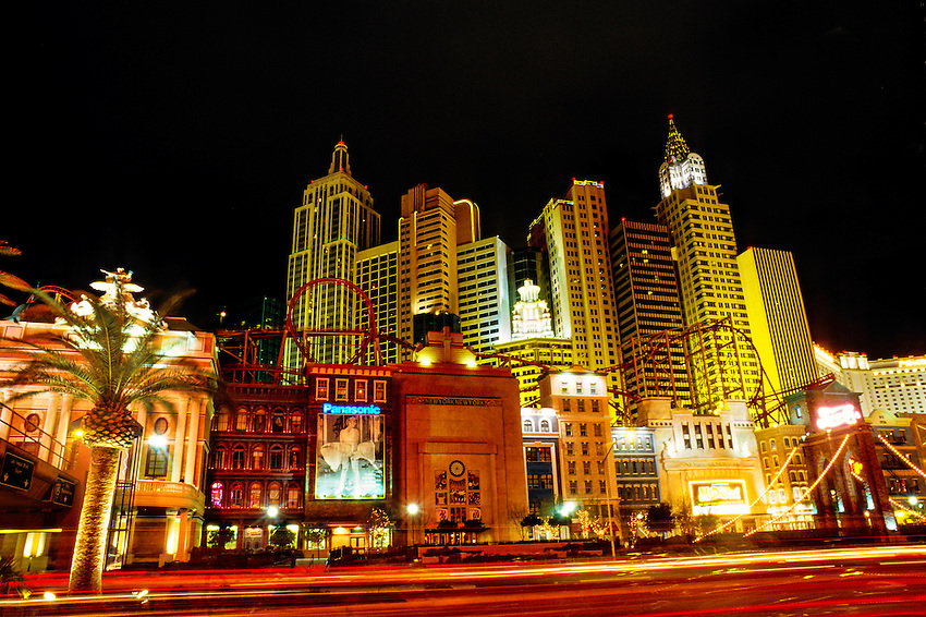 New York New York Hotel and Casino, Las Vegas Boulevard (the Strip), Las Vegas, Nevada USA
