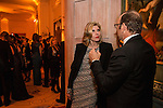 Actress Christine Baranski talks with actor Kevin Spacey at the Bloomberg Vanity Fair White House Correspondents' Association dinner afterparty at the residence of the French Ambassador on Saturday, April 28, 2012 in Washington, DC. Brendan Hoffman for the New York Times