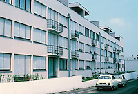 Stuttgart: Weissenhofsiedlung, Apartment building. Ludwig Mies Van der Rohe.