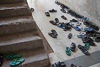 Madrasa Students Leave Shoes Outside their Classroom, Madrasa Imdadul Uloom, Dehradun, India.