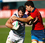 Danny Barrett, Day 1, 30 November 2018 Dubai Sevens 2018 at The Sevens for HSBC World Rugby Sevens Series 2018, Dubai - UAE - Photos Martin Seras Lima