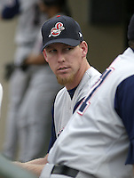 June 14, 2004:  Sean Douglass of the Syracuse Sky Chiefs, Class-AAA International League affiliate of the Toronto Blue Jays, during a game at Frontier Field in Rochester, NY.  Photo by:  Mike Janes/Four Seam Images