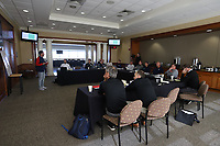 Winston-Salem, North Carolina  - Friday April 20, 2018: Coaching Development Program meeting with Pilot NCAA coaches at BB&T Field.