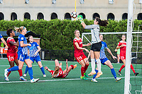 Boston, MA - Saturday July 01, 2017: Sammy Jo Prudhomme during a regular season National Women's Soccer League (NWSL) match between the Boston Breakers and the Washington Spirit at Jordan Field.