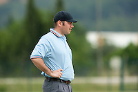 21 May 2009: Unidentified umpire is seen during the 2009 challenge de France, a tournament with the best French baseball teams - all eight elite league clubs - to determine a spot in the European Cup next year, at Montpellier, France.