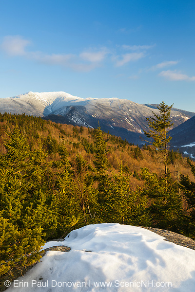 Franconia Notch State Park from Bald Mountain in the White Mountains, New Hampshire