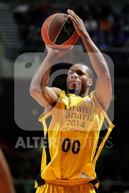 Gran Canaria 2014's Marquez Haynes during Liga Endesa ACB match.April 15,2012. (ALTERPHOTOS/Acero)