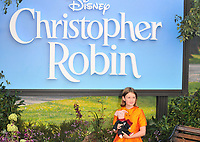 Bronte Carmichael at the &quot;Christopher Robin&quot; European film premiere, BFI Southbank, Belvedere Road, London, England, UK, on Sunday 05 August 2018.<br /> CAP/CAN<br /> &copy;CAN/Capital Pictures
