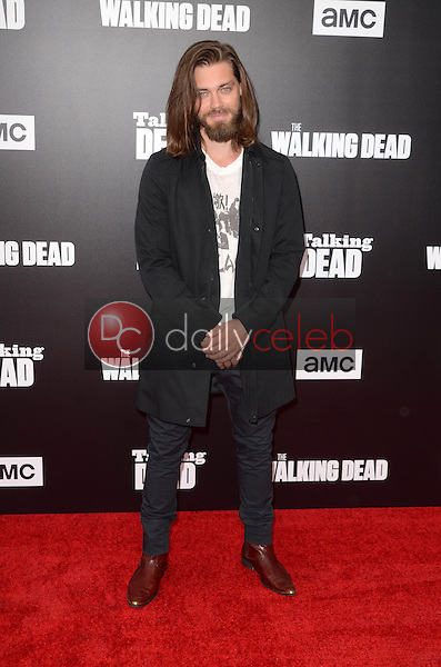 """Tom Payne<br /> at AMC's Special Edition of """"Talking Dead,"""" Hollywood Forever Cemetery, Los Angeles, CA 10-23-16<br /> David Edwards/DailyCeleb.com 818-249-4998"""