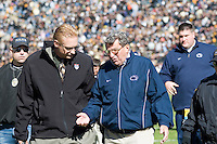 28 October 2006: Joe Paterno..The Penn State Nittany Lions defeated the Purdue Boilermakers 12-0 on October 28, 2006 at Ross-Ade Stadium, West Lafayette, Indiana.