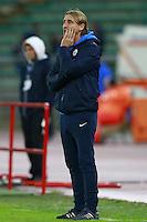 Davide Nicola Bari,  <br /> Bari 24-11-2015 Stadio San Nicola <br /> Football Calcio Trofeo San Nicola 2015 Bari - Milan<br /> Foto Cesare Purini / Insidefoto