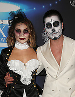 LOS ANGELES, CA - OCTOBER 21: Valentin Chmerkovskiy, Guest, at 2017 MAXIM Halloween Party at LA Center Studios in Los Angeles, California on October 21, 2017. Credit: Faye Sadou/MediaPunch /NortePhoto.com