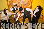Pictured Alisha Finnerty (Bessie Burges), Luke Ryan (Young Covey), Andrew Breewood (Old Peter), Ciarian Ryan (Luther Good), Clodagh Harrington (Jenny Gogan) from Mounthawk Secondary School production of  Plough and the Stars at their Dress rehearsal  on Monday.The Play taking place in Siamsa Tire January 29th-31st. All performances start at 8pm