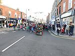 Santa arrives at Blackrock Shopping Centre Dublin 22-11-2015. Photo: Colin Bell/pressphotos.ie