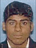 Washington, DC - September 26,  2001 -- Photo released by FBI of  Salem Alhazmi, one of the alleged hijackers of American Airlines Boeing 757 designated as Flight #77, from Washington Dulles to Los Angeles.  The flight departed Washington Dulles at 8:10 AM on Tuesday, September 11, 2001 and crashed into the Pentagon at 9:39 AM..Credit: FBI via CNP