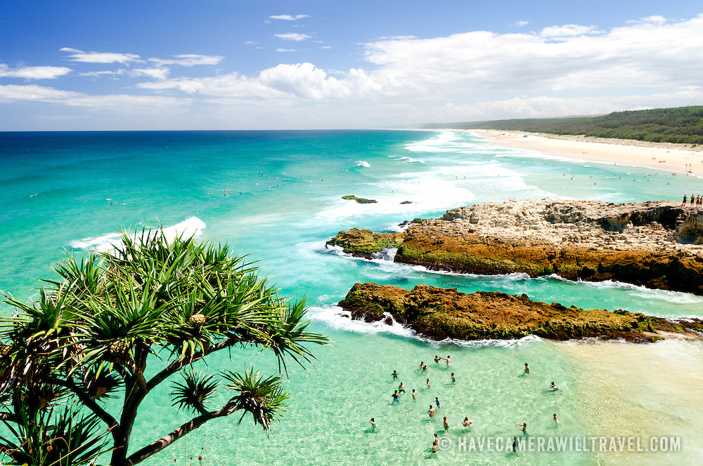 Connecting You To North Stradbroke Island: North Stradbroke Island Beach From Point Lookout With