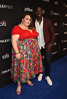 """HOLLYWOOD, CA - MARCH 24: Chrissy Metz and Sterling K. Brown attend PaleyFest 2019 for 20th Century Fox Television's """"This is Us"""" at the Dolby Theatre on March 24, 2019 in Hollywood, California. (Photo by Frank Micelotta/20th Century Fox Television/PictureGroup)"""